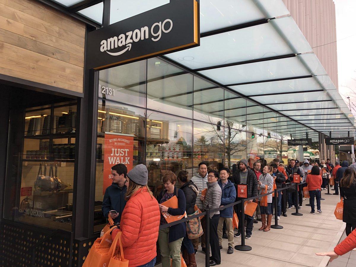 Amazon lo ha hecho: un supermercado en el que no hay que pasar por caja