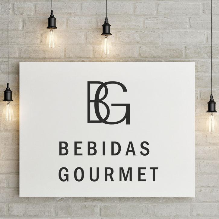 Diseño Gráfico Bebidas Gourmet