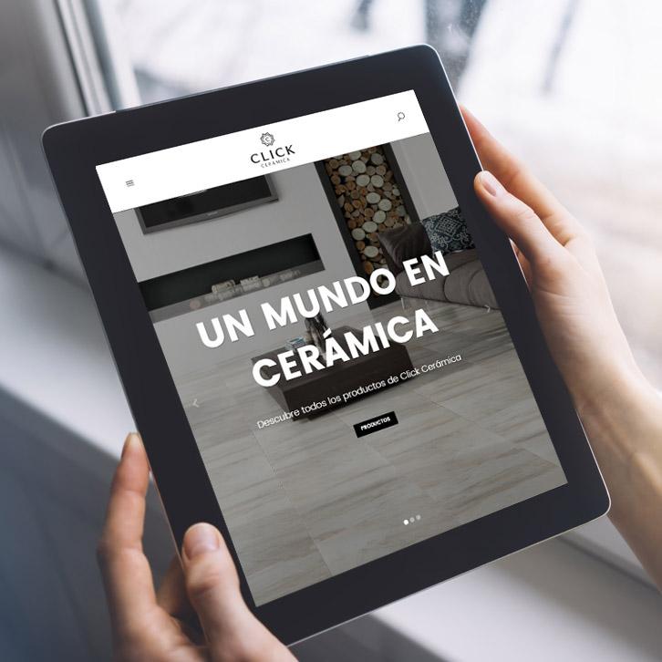 Diseño Web Click Cerámica