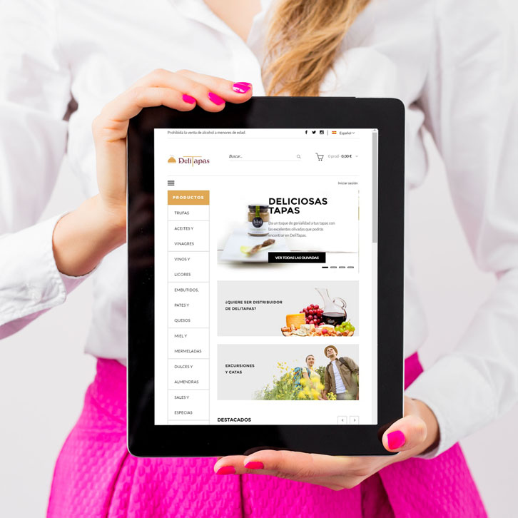 Tienda Online Delitapas