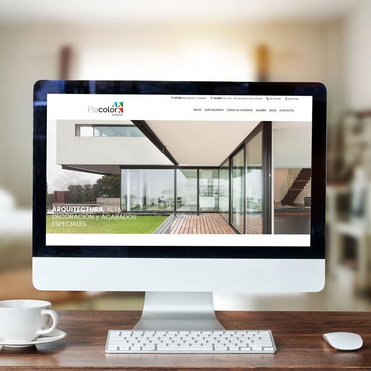 Página Web Placolor