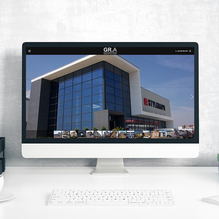 Diseño Web GR-Arquitectura