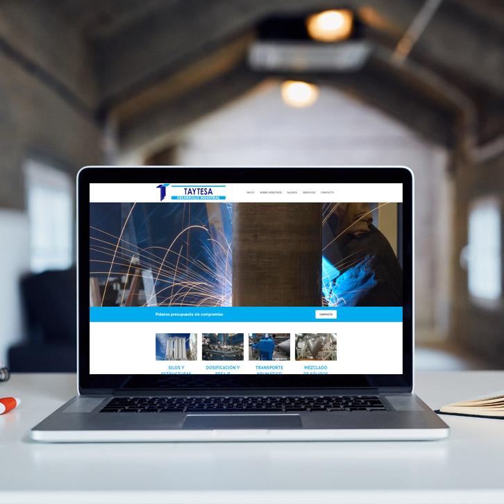 Diseño Web Taytesa