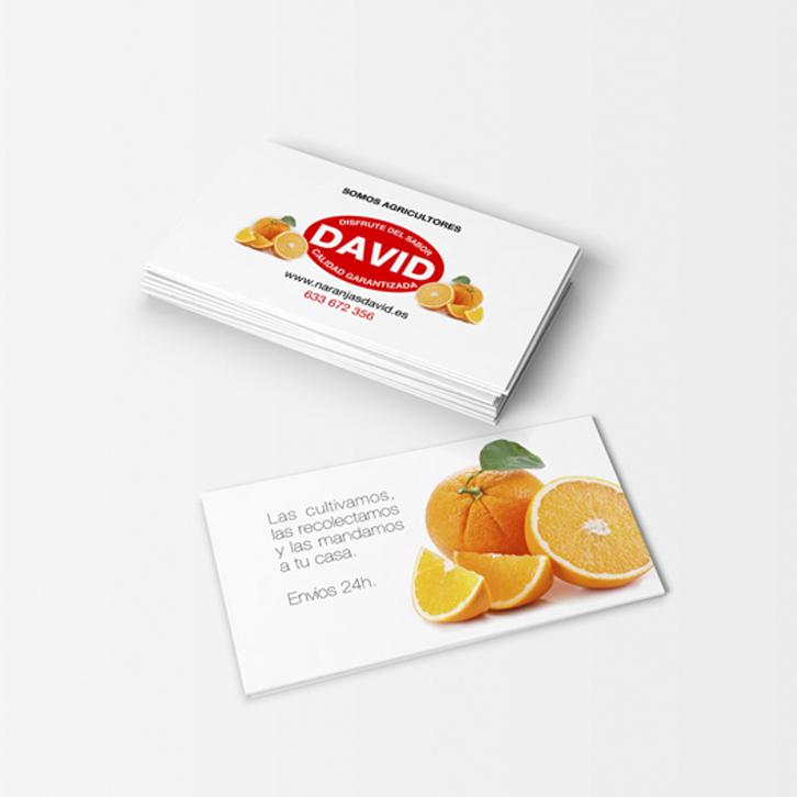 Diseño Gráfico Naranjas David