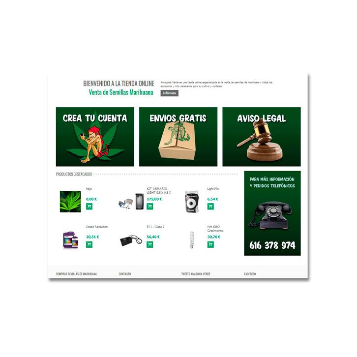 Tienda Online Amazonia Verde