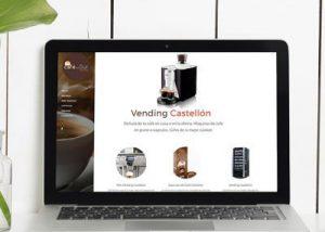 Página web cafedelsur Castellón