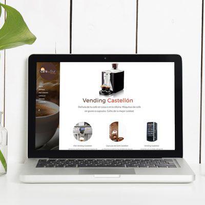 Página Web Café del Sur