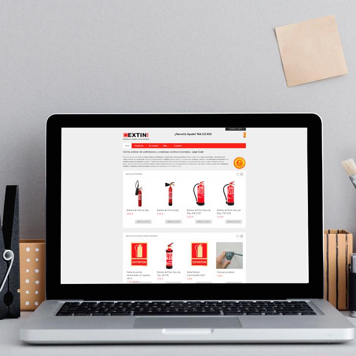 Tienda Online de Extintores