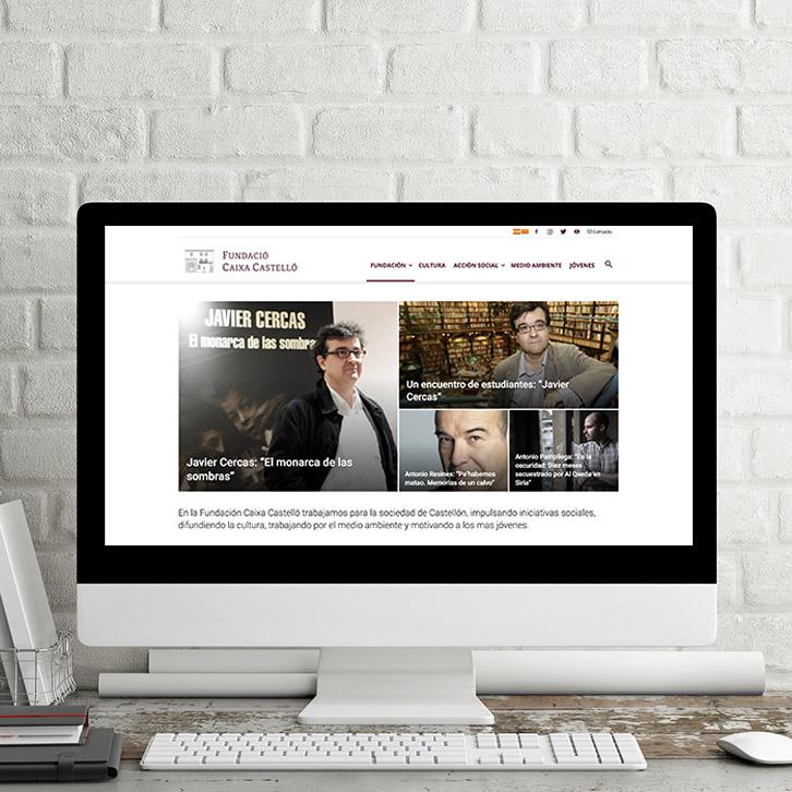 Página web Fundación Caja Castellón