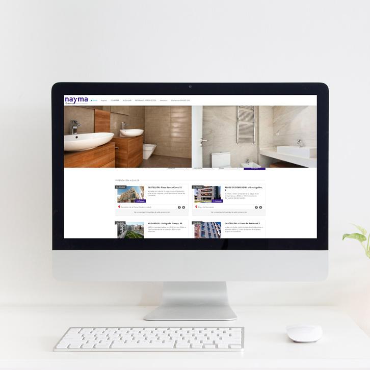 Página Web Inmobiliaria Guimez