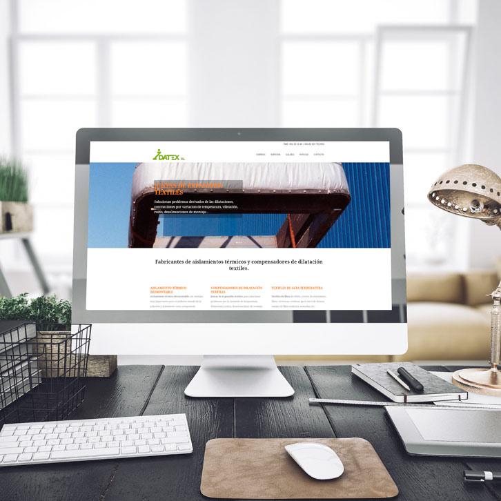 Página Web Idatex