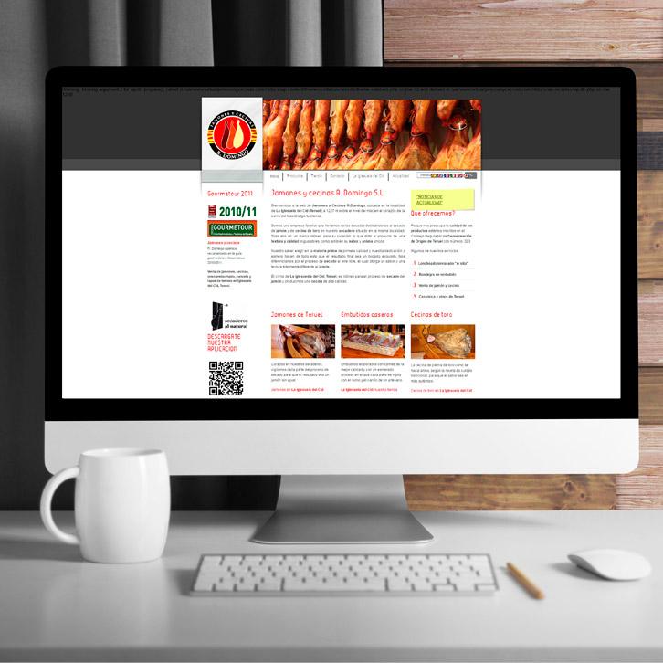 Página Web de Jamones