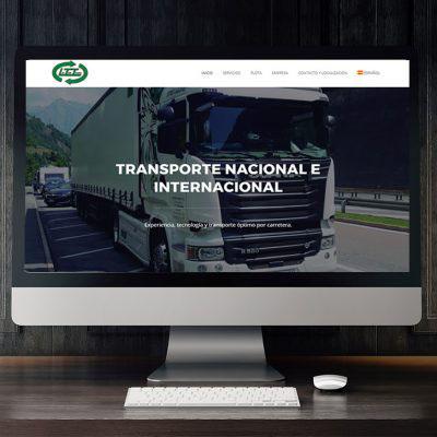 Página Web Laytor Trans