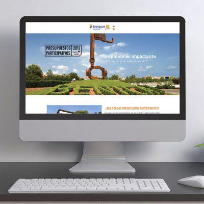Página Web Benicàssim Presupuestos Participativos