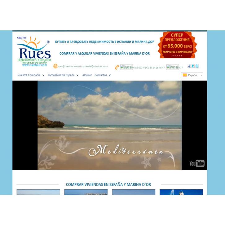 Página Web Ruestour