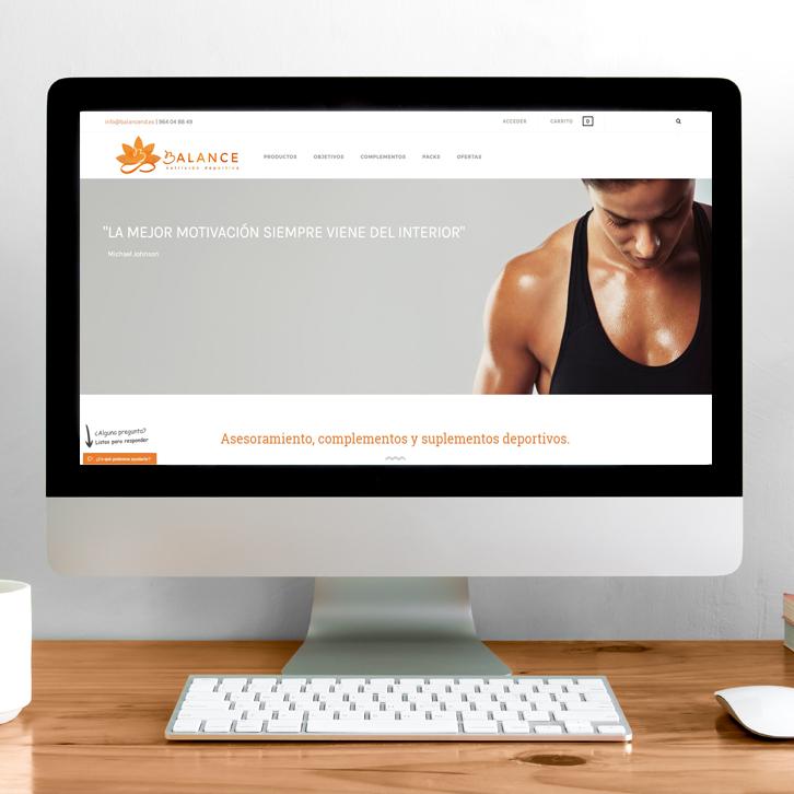 Tienda Online Balance Nutrición Deportiva