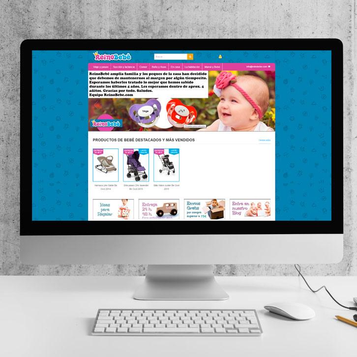 Tienda Online de bebés