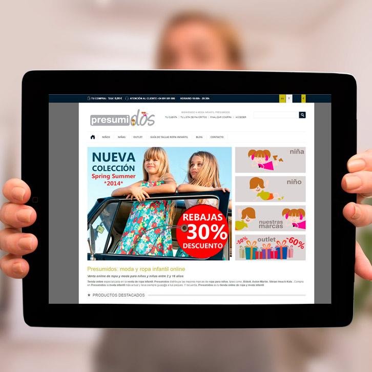 Tienda online Presumidos