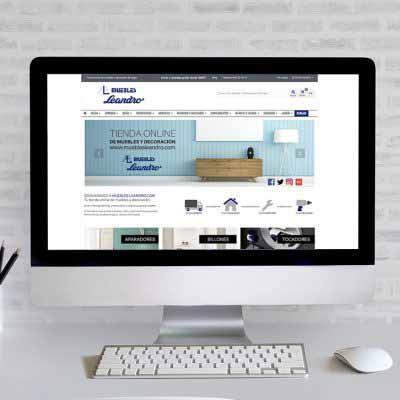 Tienda Online Muebles Leandro