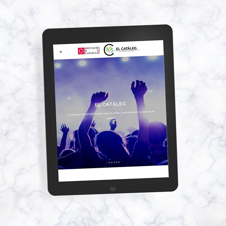 Portal web cultural El Catàleg