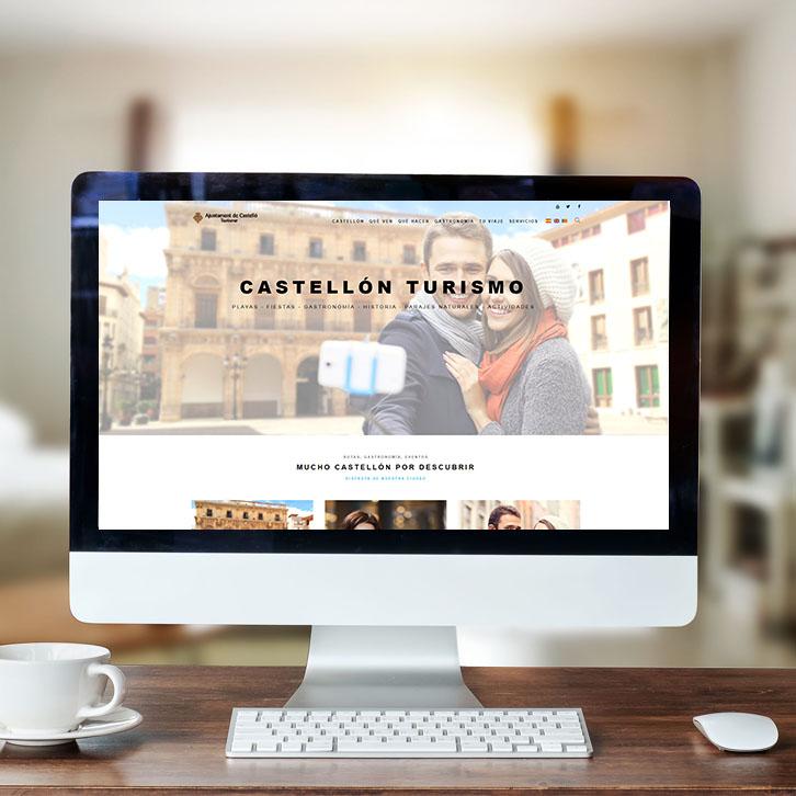 Página web Ayuntamiento Castellón Turismo