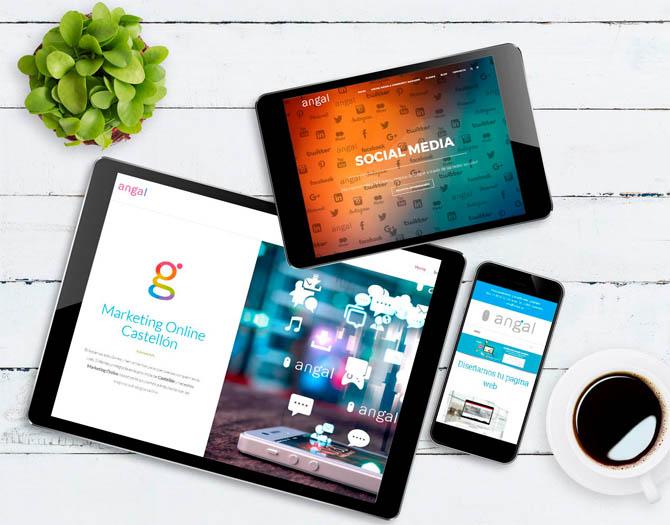 Diseño páginas web Castellón
