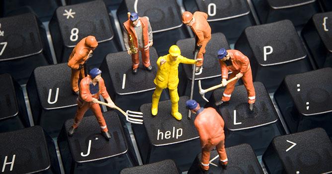 Mantenimiento de ordenadores y redes en empresas