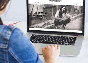 diseño tienda online needles and pins