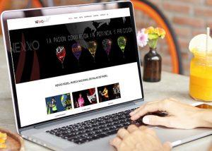 diseño tienda online nexxo padel