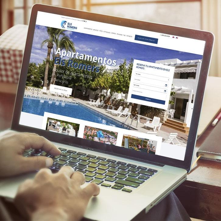 Página web de alquiler de apartamentos