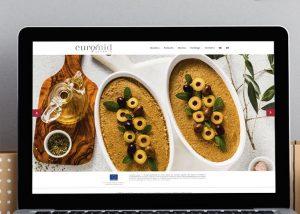 Página web de productos