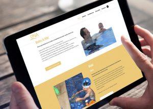 Página web natación Piscina Ona