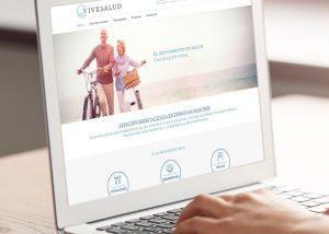Página web fisioterapia ViveSalud