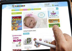 Tienda online y posicionamiento web de juguetes todojuguete