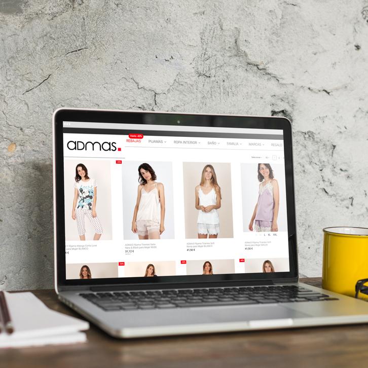 Tienda online ropa Admas