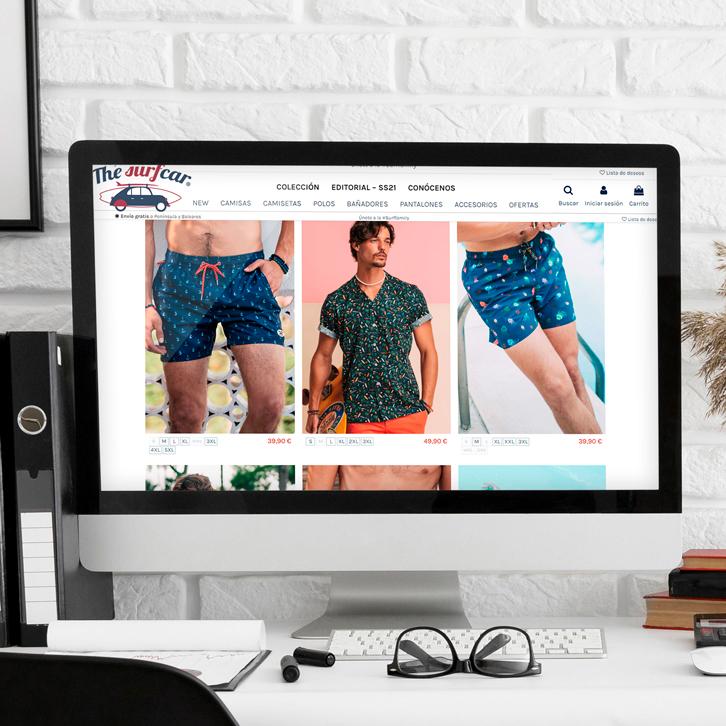 Tienda online ropa para hombres Surfcar