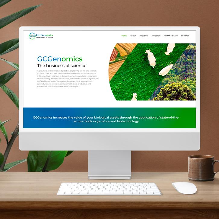 Página web GCgenomics