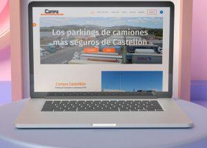 Pagina web Parking de camiones