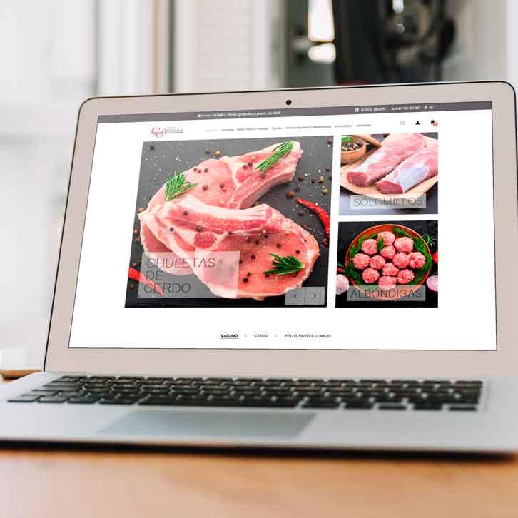 Tienda online carne Carnes Ventura