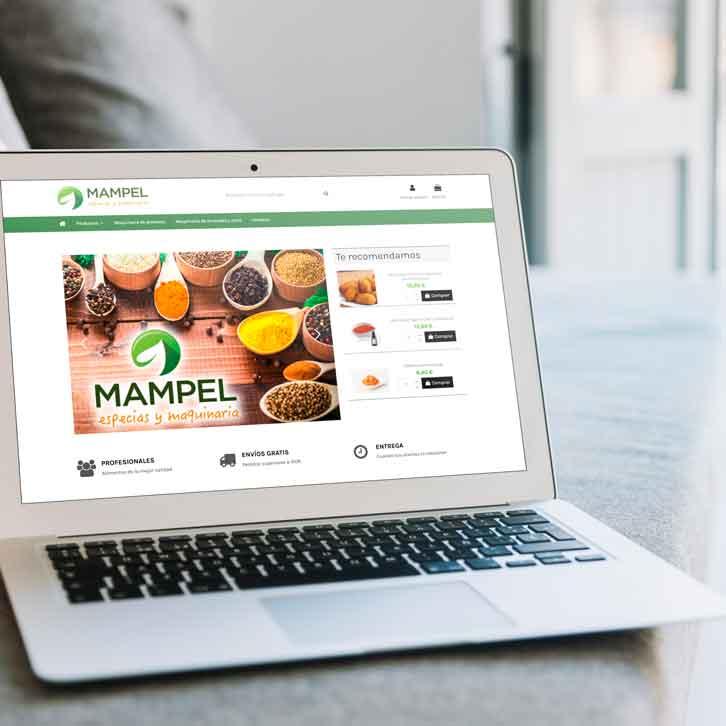 Tienda online de especias y maquinaria Mampel