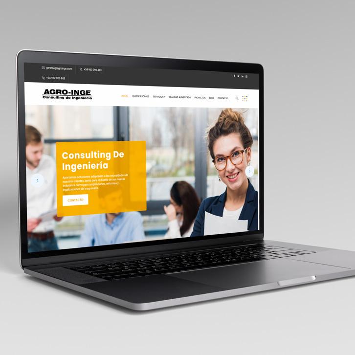 Página Web Agroinge