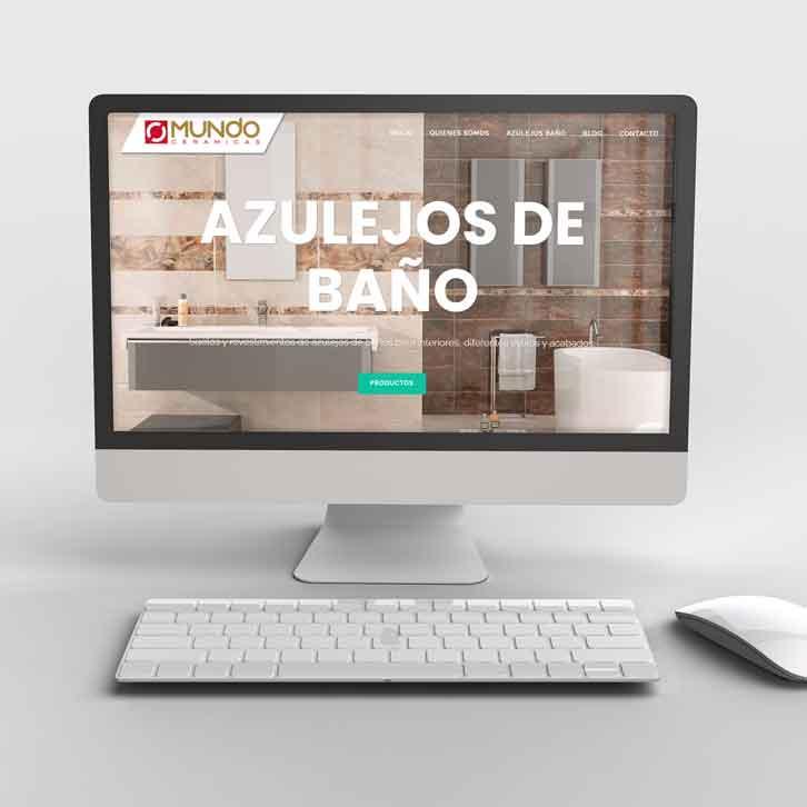 Página Web Azulejos Baño
