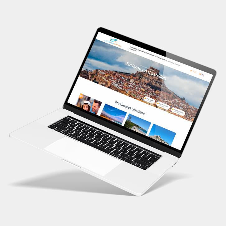 Página web Castellón virtual