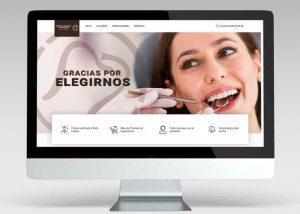 pagina web dental clinic ibiza