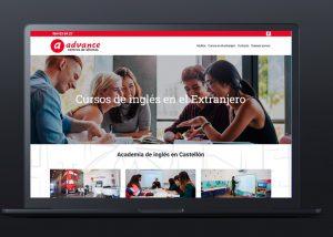 pagina web idiomas advance
